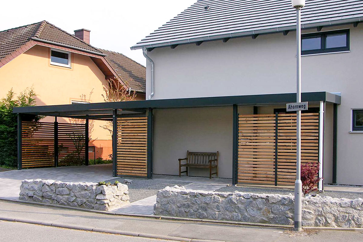 Carports Metall - Uninorm Technic AG
