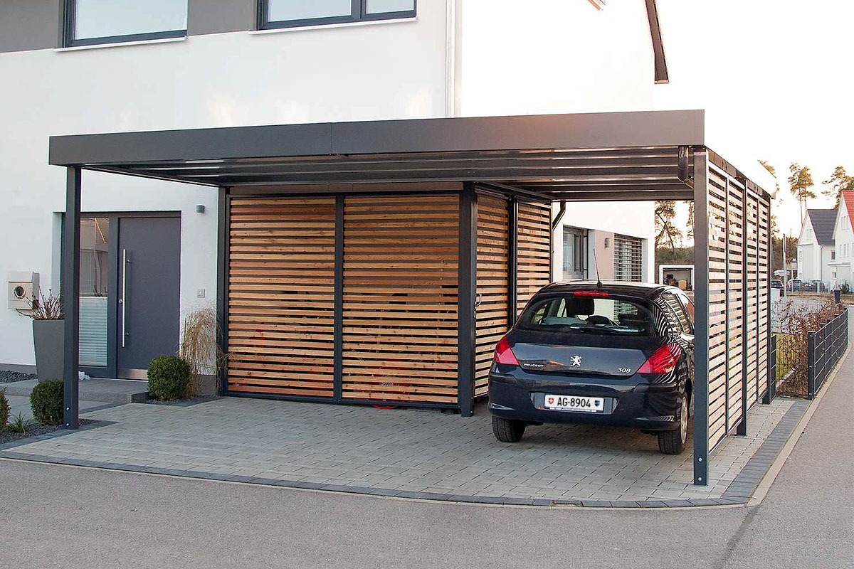 Carports metall archive uninorm technic ag for Carport holz metall